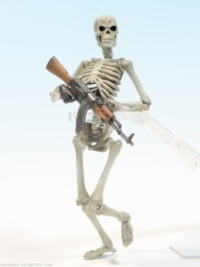 Little Armory AKM Revoltech Skeleton
